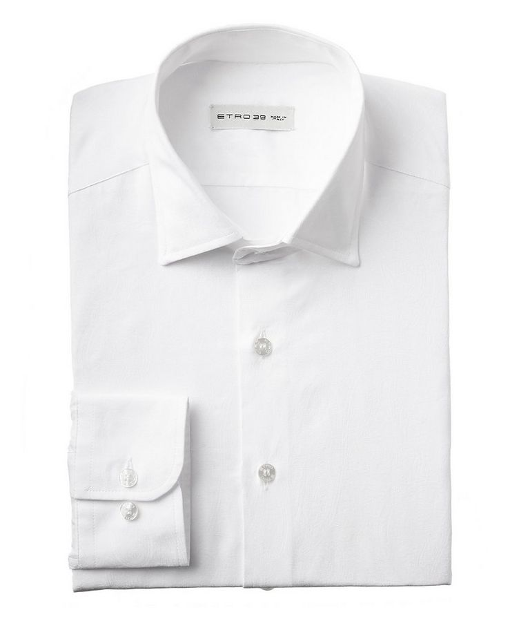 Paisley-Printed Cotton Shirt image 0