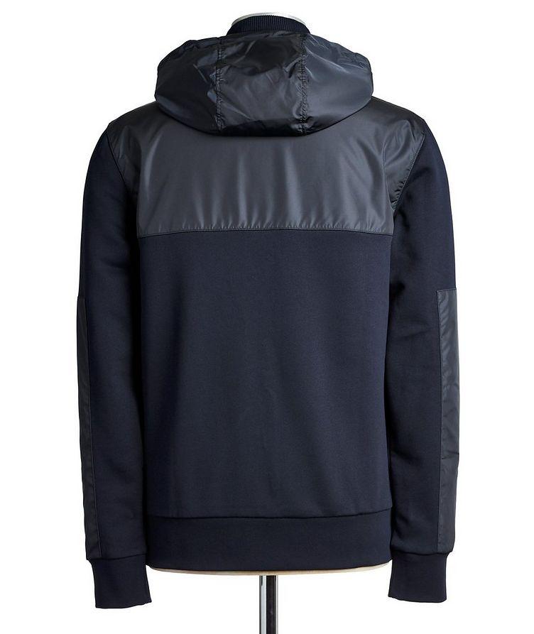 Half-Zip Cotton Hoodie image 1