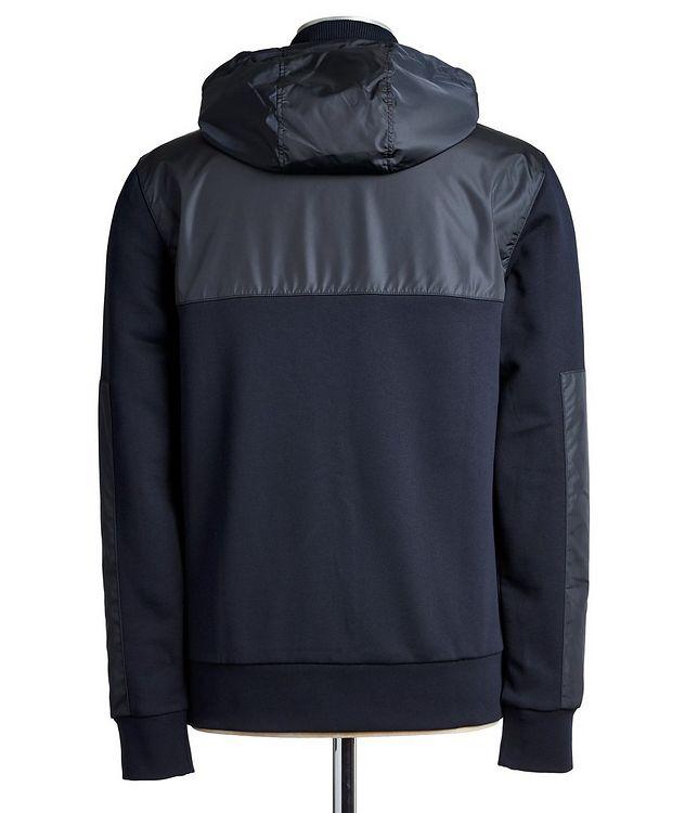 Half-Zip Cotton Hoodie picture 2