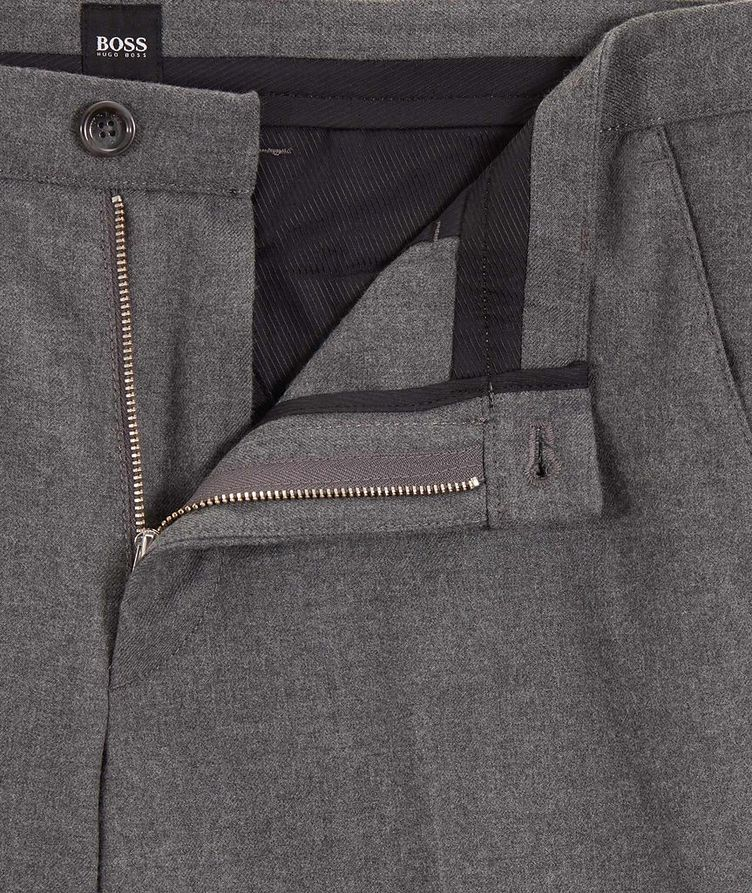 Kaito Brushed Wool-Blend Trousers image 1