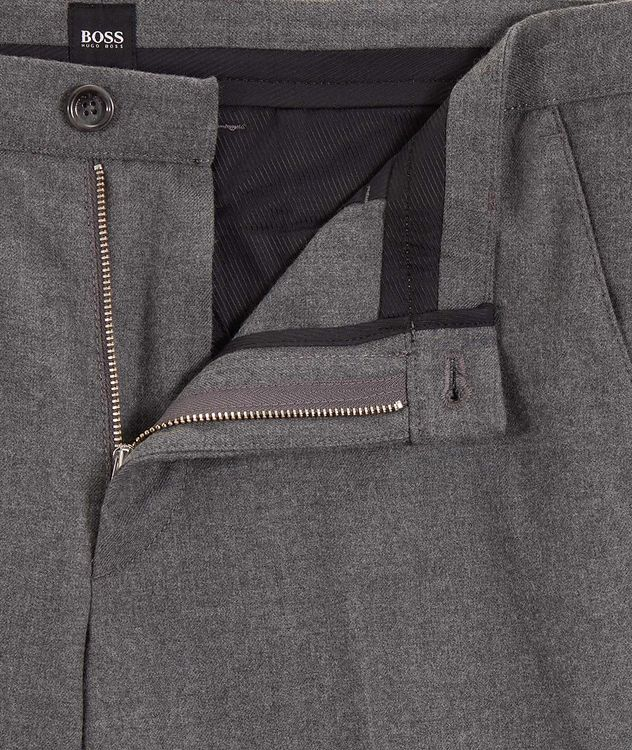 Kaito Brushed Wool-Blend Trousers picture 2