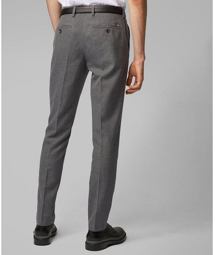 Kaito Brushed Wool-Blend Trousers image 4
