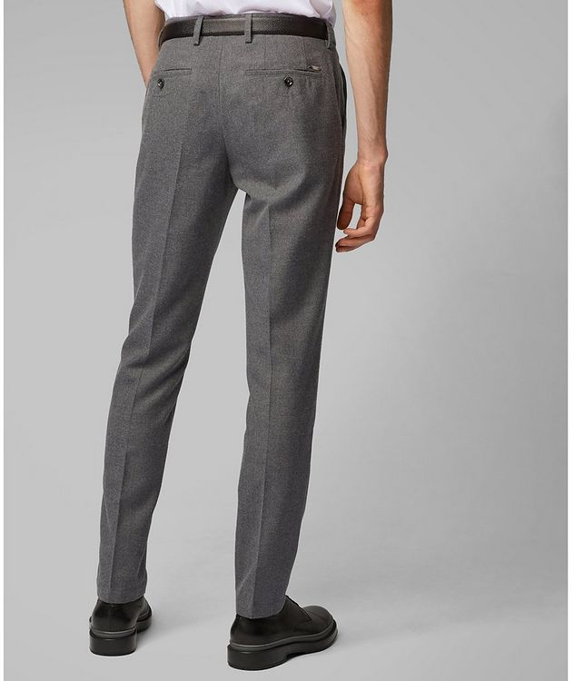 Kaito Brushed Wool-Blend Trousers picture 5
