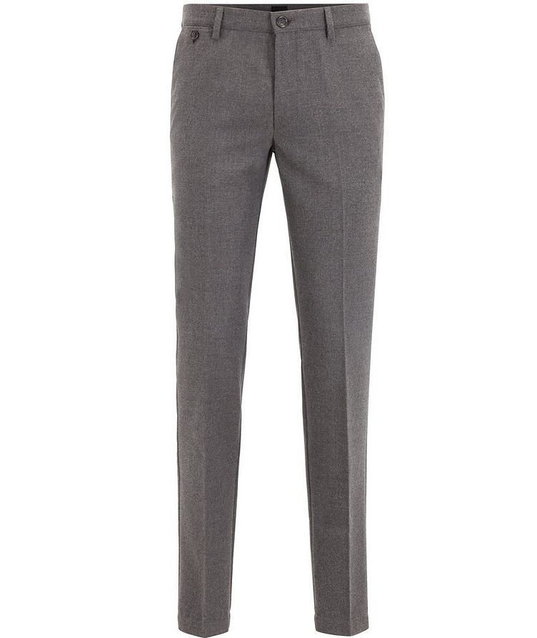 Kaito Brushed Wool-Blend Trousers image 0