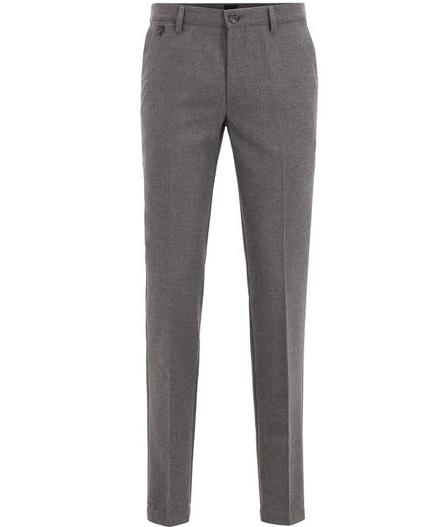 Kaito Brushed Wool-Blend Trousers picture 1