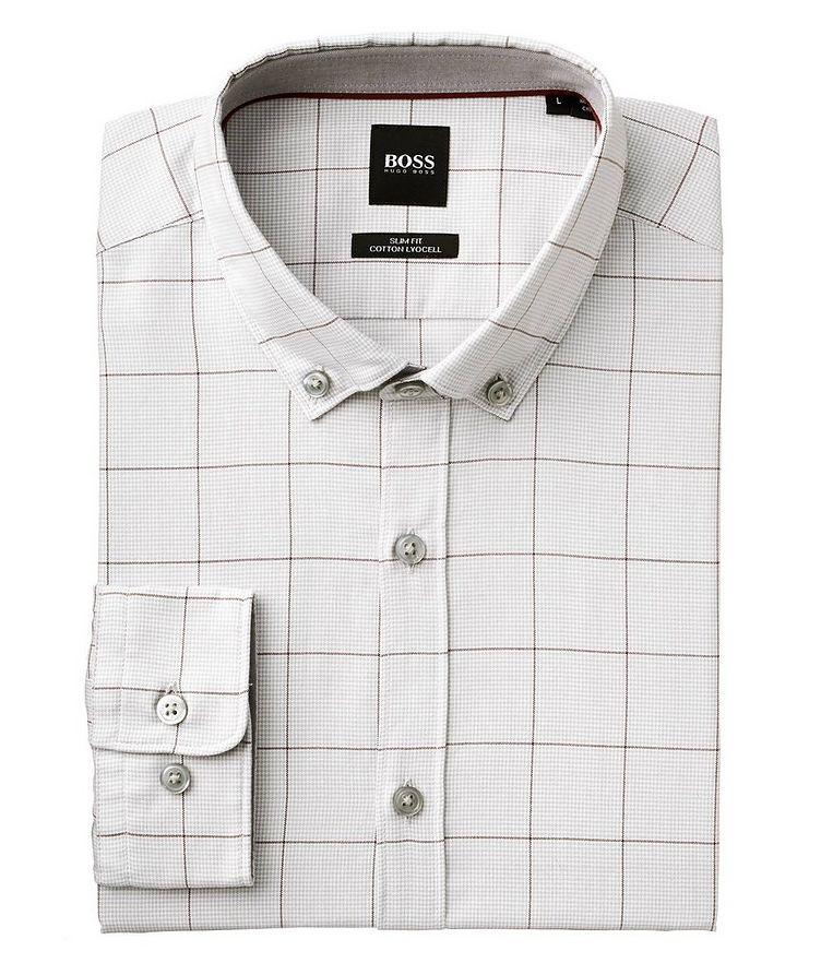 Printed Cotton-Lyocell Shirt image 0