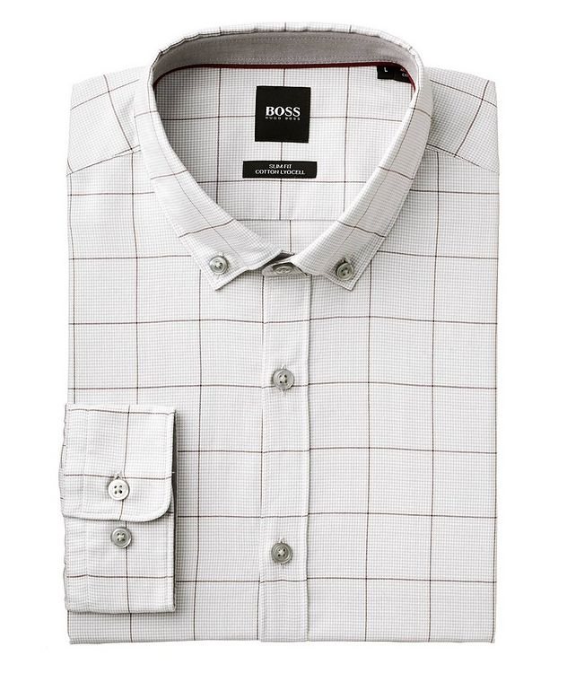 Printed Cotton-Lyocell Shirt picture 1