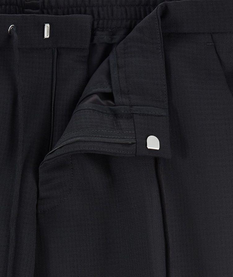 Slim Fit Stretch-Wool Dress Pants image 1