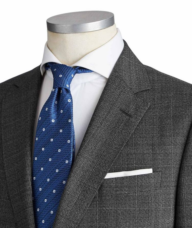 Drop 8 Glen Checked Wool Suit image 1