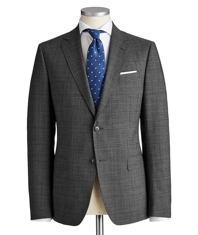 Drop 8 Glen Checked Wool Suit picture 1