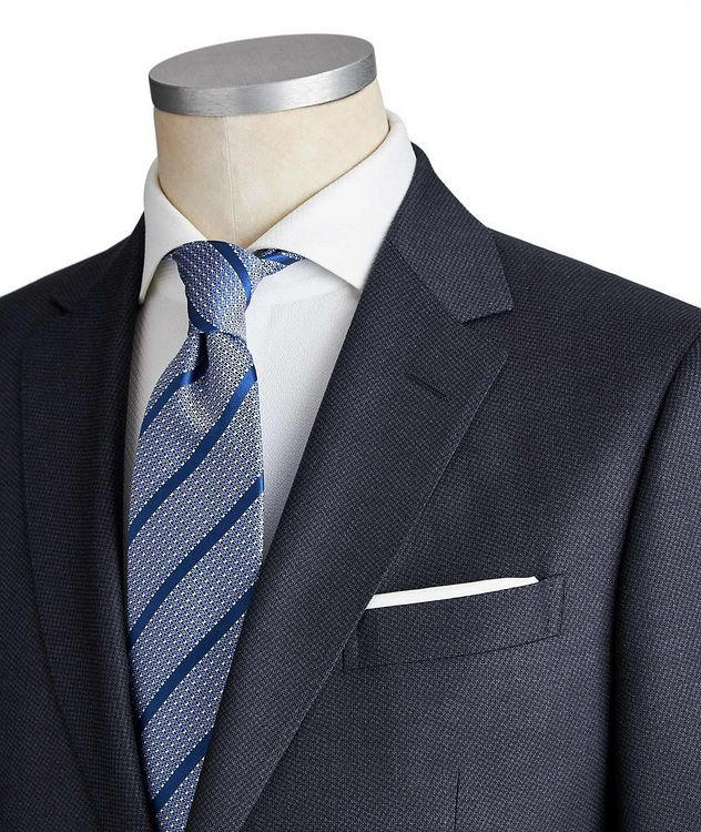 Drop 8 Tonal Houndstooth Wool Suit picture 2
