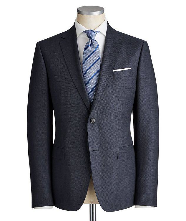 Drop 8 Tonal Houndstooth Wool Suit picture 1