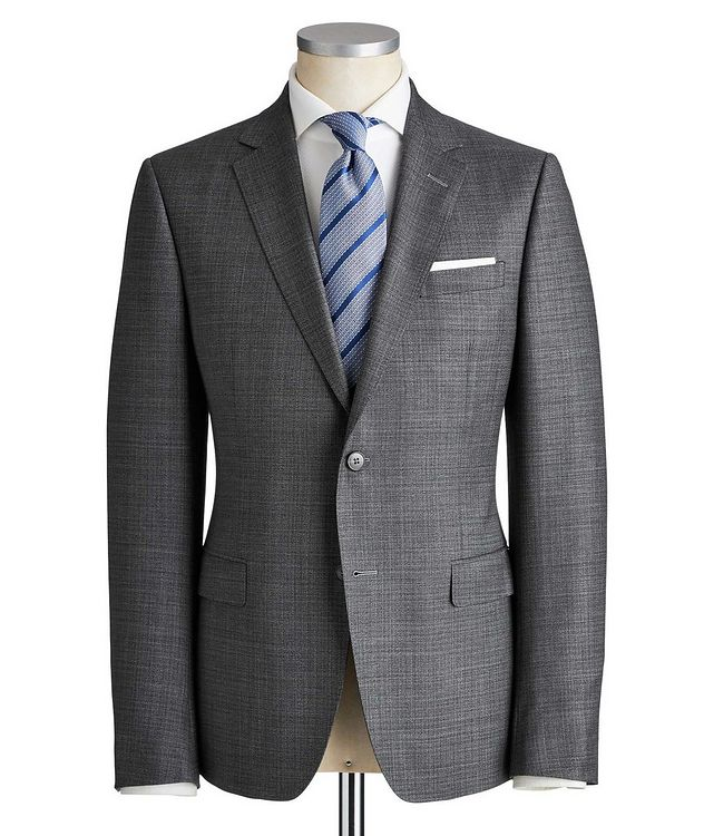 Drop 8 Crosshatched Wool Suit picture 1