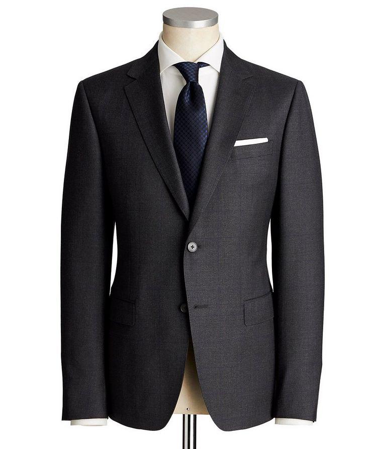 Drop 8 Windowpane-Check Suit image 0