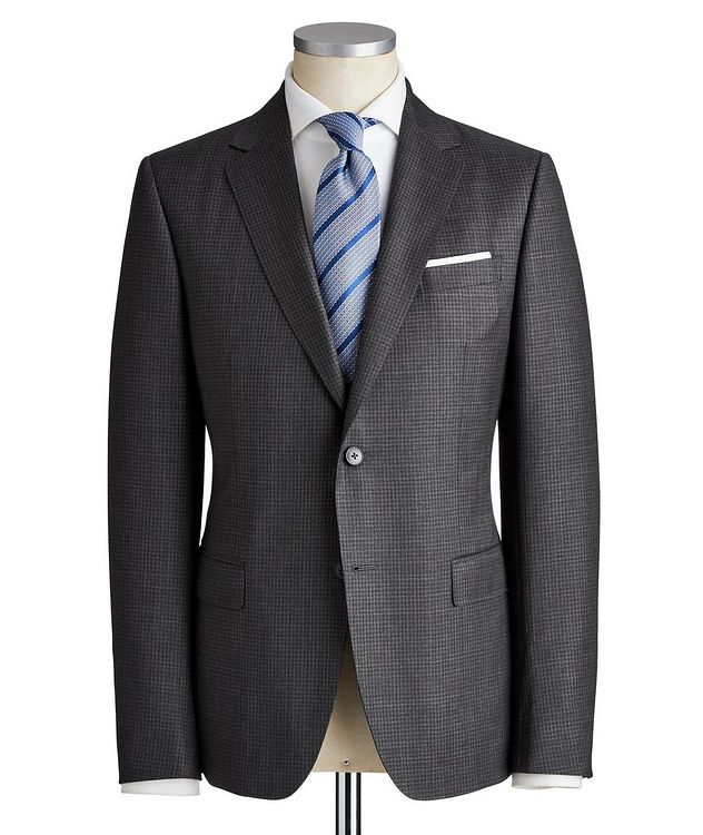 Drop 8 Micro-Checkered Wool Suit picture 1
