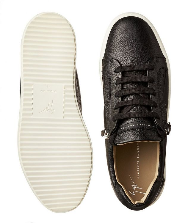Tumbled Deerskin Low-Tops picture 3