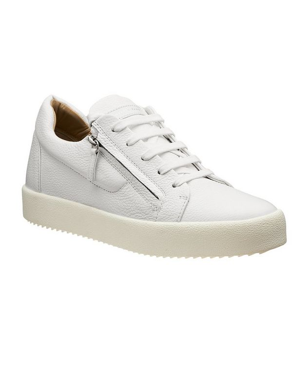 Tumbled Deerskin Low-Tops picture 1