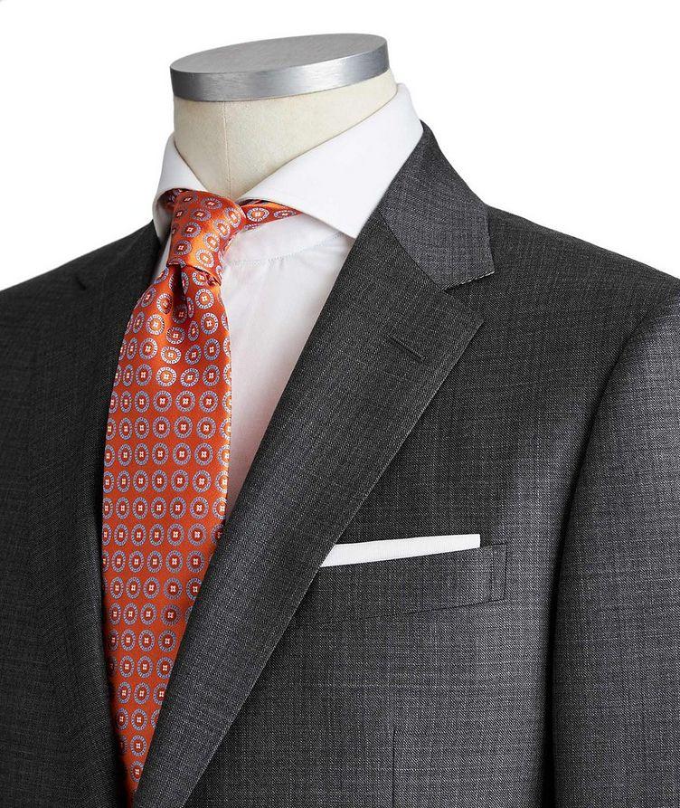 Drop 8 Crosshatched Wool Suit image 1