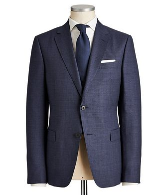 Z Zegna Drop 8 Checked Suit