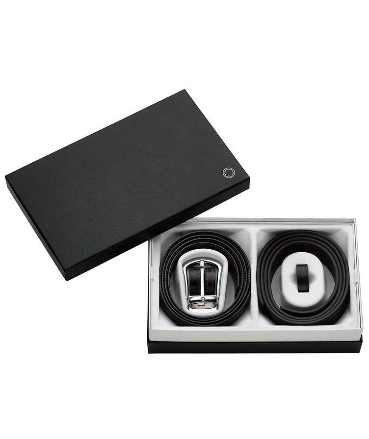 Ensemble-cadeau, ceintures en cuir image 1