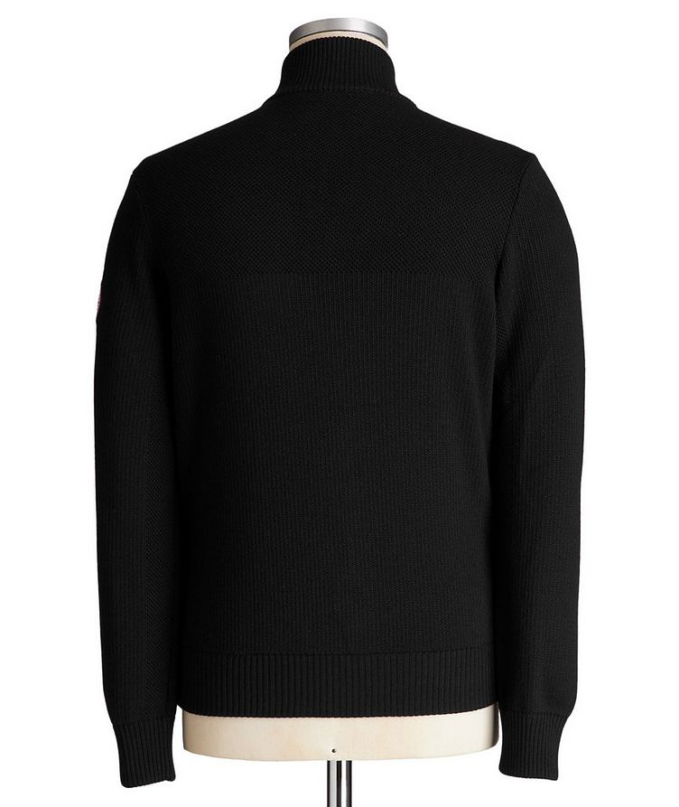 HyBridge Zip-Up Knit Sweater image 1