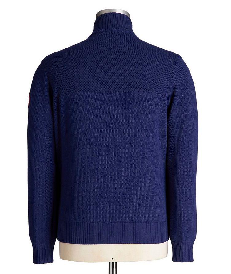 HyBridge Zip-Up Knit Sweater image 1