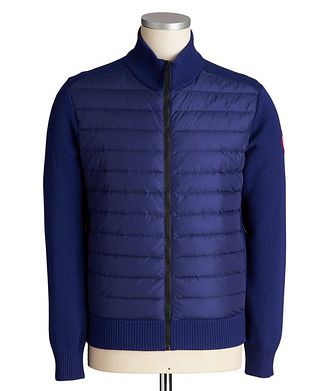 Canada Goose HyBridge Zip-Up Knit Sweater