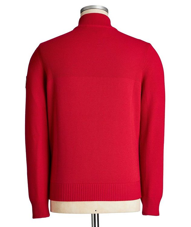 HyBridge Zip-Up Knit Sweater picture 2