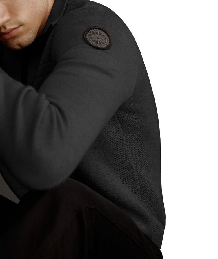 Clarke Half-Zip Wool-Blend Sweater image 3