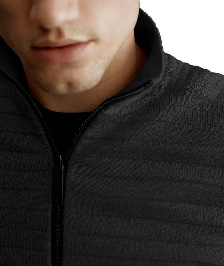 Clarke Half-Zip Wool-Blend Sweater image 4