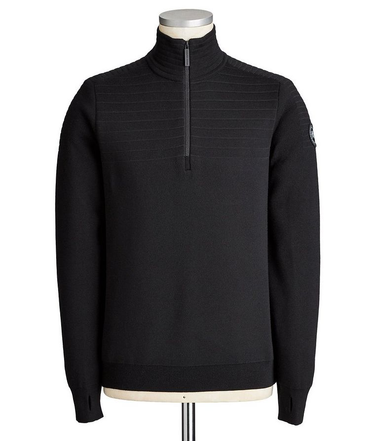Clarke Half-Zip Wool-Blend Sweater image 0