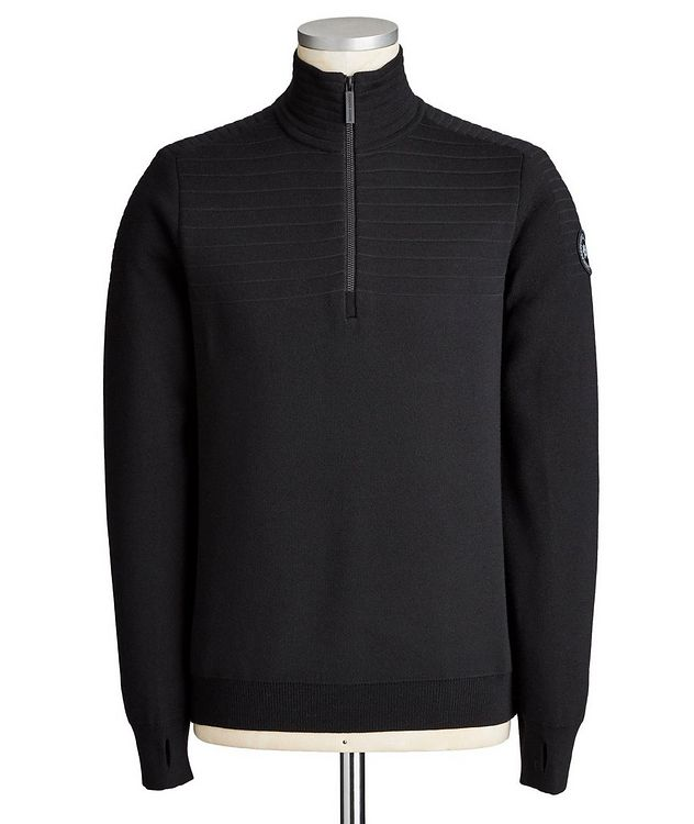 Clarke Half-Zip Wool-Blend Sweater picture 1