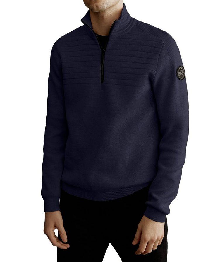 Clarke Half-Zip Wool-Blend Sweater image 1