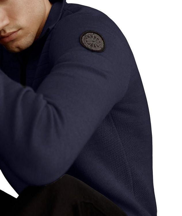 Clarke Half-Zip Wool-Blend Sweater picture 4