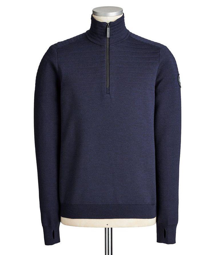 Clarke Half-Zip Wool-Blend Sweater image 0