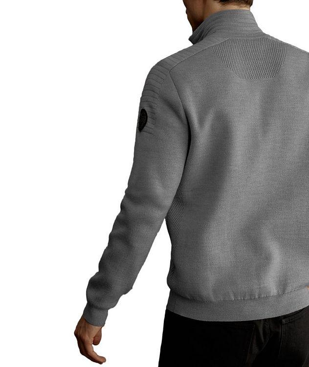 Clarke Half-Zip Wool-Blend Sweater picture 3