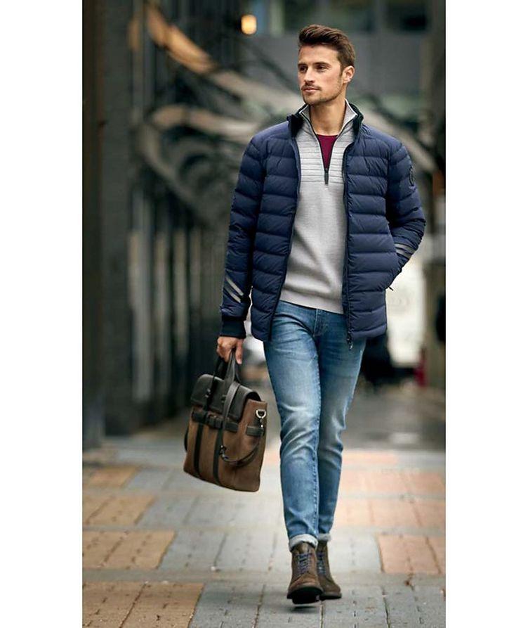 Clarke Half-Zip Wool-Blend Sweater image 4