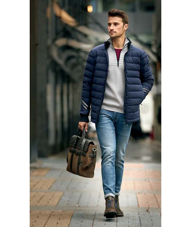 Clarke Half-Zip Wool-Blend Sweater picture 5