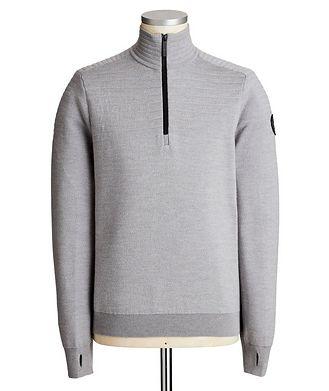 Canada Goose Clarke Half-Zip Wool-Blend Sweater
