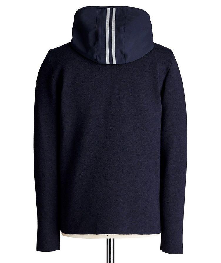 Elgin Zip-Up Merino Wool Hoodie image 1
