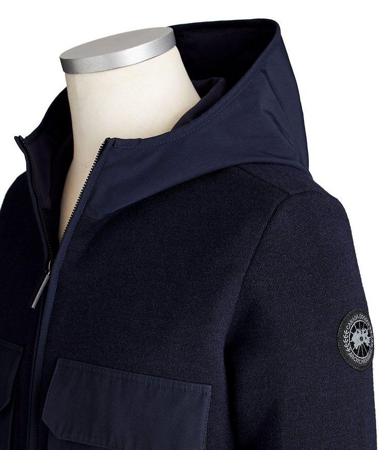 Elgin Zip-Up Merino Wool Hoodie image 2