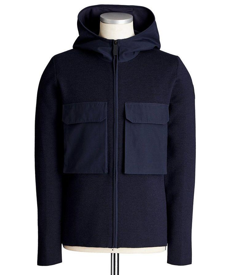 Elgin Zip-Up Merino Wool Hoodie image 0