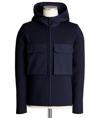 Canada Goose Elgin Zip-Up Merino Wool Hoodie
