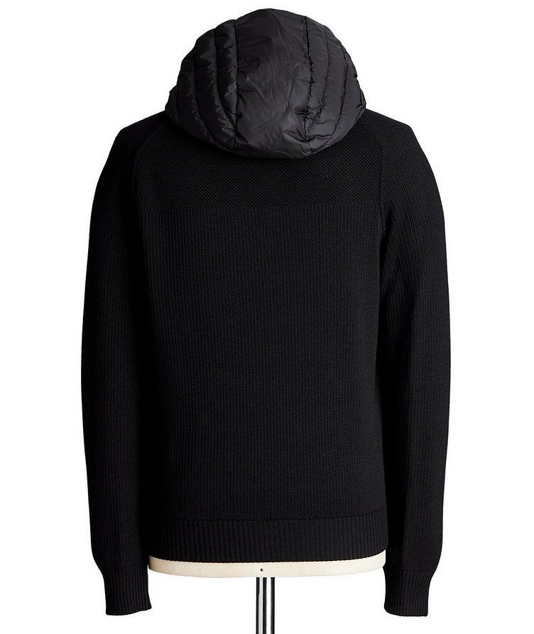 Black Label HyBridge Reversible Knit Hoodie image 1