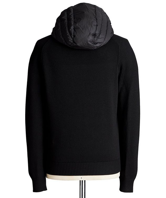 Black Label HyBridge Reversible Knit Hoodie picture 2