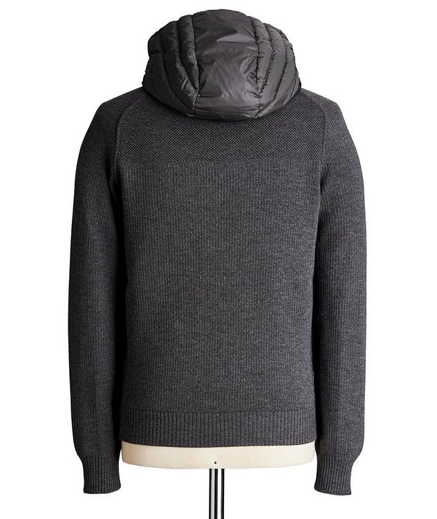 Black Label HyBridge Reversible Knit Hoodie picture 2