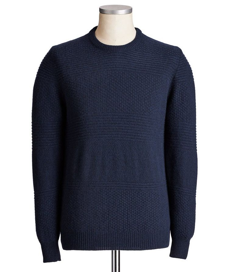 Textured Cashmere Sweater image 0