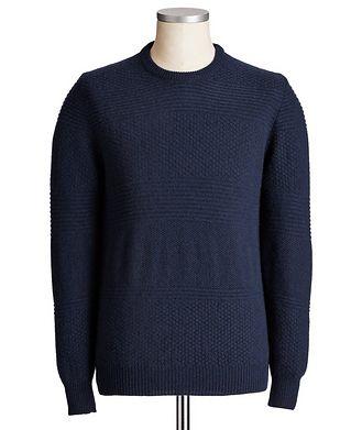 Kiton Textured Cashmere Sweater