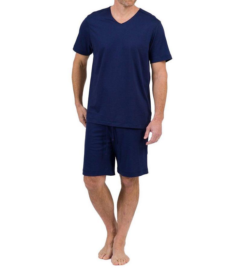 V-Neck Pima Cotton T-Shirt image 0