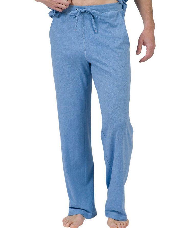 Drawstring Pima Cotton Pants image 0